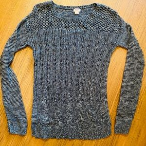 MOSSIMO size L black knitted sweater
